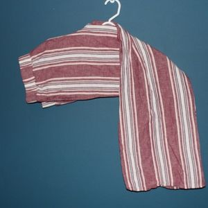 NWOT Red Striped Pants